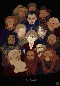 chuwenjie: the hobbit! featuring thorin & co. which dwarf is your favorite? Hobbit Art, Hobbit Hole, The Hobbit, Jrr Tolkien, Fan Art, Hobbit Dwarves, Fili Und Kili, Bagginshield, Bilbo Baggins