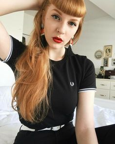 Fred Perry, Betty Bangs, Punk Rock Girls, Skinhead Girl, Teddy Girl, Mod Look, Mod Girl, Scooter Girl, Pin Up Hair
