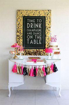 Pink decorations