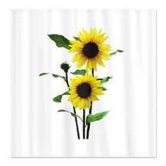 Shower Curtains On Pinterest Sunflowers Red Poppies And Gypsy