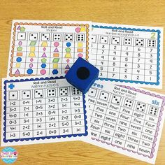 Fluency isn't just for reading, students need math fluency too! Practice Kindergarten math skills with Roll and Read activities. Put the page in a page protector to make a Fluency binder and use with a dice!