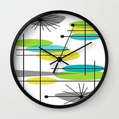 Society6 Mid-Century Modern Atomic Design Wall Clock Blac... https://www.amazon.com/dp/B075J75ST1/ref=cm_sw_r_pi_dp_U_x_I4CIAb20QFJPV