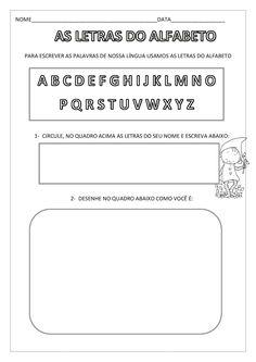 AAAA                 Atividades para alfabetização, com cliparts da mycute