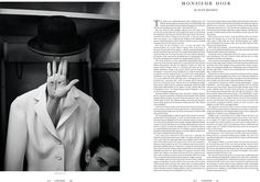 Christian Dior - Château De La Colle Noire (Luncheon Magazine)