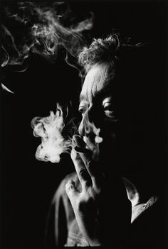 ♂ Black and white man portrait Unpublished portraits of Serge Gainsbourg by Nigel Parry.