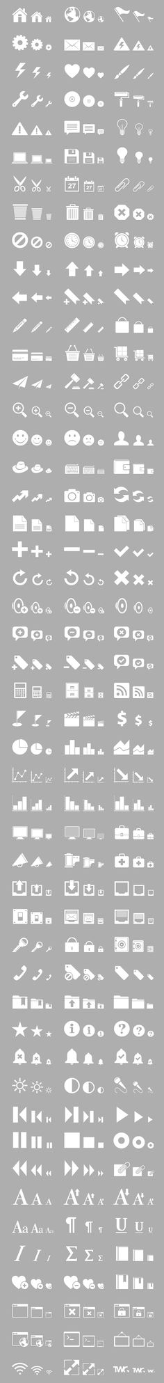 Retina Display Free Icon Set