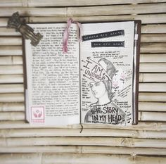 besottment #travelersnotebook #collage #artjournal