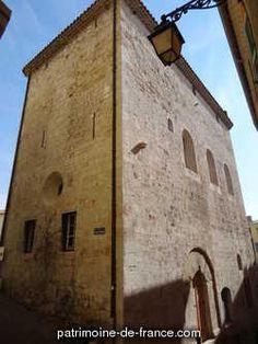Chapelle Saint-Blaise dite Tour des Templiers à Hyeres Var