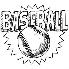 20 Best Baseball coloring pages images | Baseball coloring pages ...
