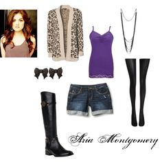 """""""Pretty Little Liars - Aria"""" by melissaasaurus on Polyvore @Kaitlin Pino"""