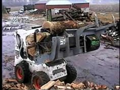 UPDATE: Thanks to some friends I have been informed that Hahn Machinery of Two Harbors Minnesota is the manufacturer. It's called the Hahn Firewood Processor. Stacking Firewood, Firewood Logs, Two Harbors Minnesota, Firewood Processor, Log Splitter, Pottery Kiln, Tractor Implements, Create Your Own Business, Got Wood