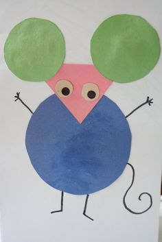 If mice can teach colors , why not shapes? In her book Mouse Shapes , Ellen Stoll Walsh covers basic shapes while spinning a delightful sto...