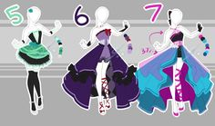 .::Adoptable Collection 20 (4-5 OPEN)::. by Scarlett-Knight.deviantart.com on @DeviantArt