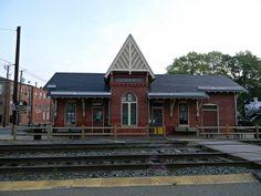 GAITHERSBURG, MD:  Historic train station in Olde Town Gaithersburg