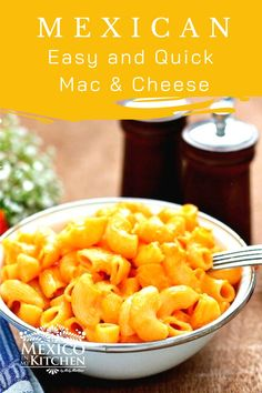 This pasta recipe is very quick and easy to prepare, and it's also a very popular recipe for kids! Mac and Cheese is not a traditional Mexican recipe, but it has somehow been adopted in many Mexican homes and is a favorite at children's parties and other types of celebrations.#mexicanrecipes #homecook #mexicanmacandcheese#easyrecipes #macandcheese