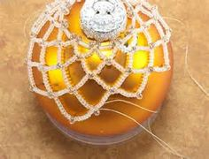 Free Beaded Netting Holiday Ornament Cover Pattern Aboutcom/page/256