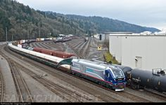 RailPictures.Net Photo: IDOT 4611 Amtrak Cascades Siemens SC-44 at Portland, Oregon by J.PO
