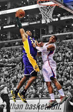 Chris Paul Gets Got By Kobe Bryant (video)