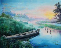 Lysenko Marina, 2015 | Холст, масло, 40 х 50 см, без багета | Пейзаж, романтический реализм
