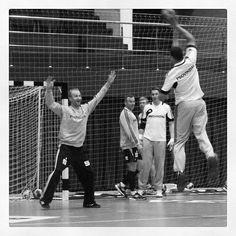 Tolles BIld mit Filip Jicha, Thierry Omeyer und Dominik Klein von THW Kiel beim Training    repinned by someid.de