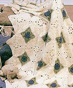Amore Tiles Afghan. Just beautiful!