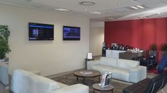 Corporate Communications in the reception are of Endress+Hauser