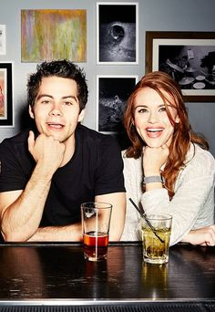 Dylan O´Brien and Holland Roden i dont ship them but They are really good FRiends