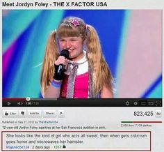 Jordyn Foley - The X-Factor #Funny, #Girls, #Kids