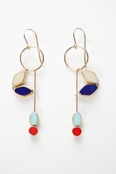 Rooni Kappos Glass Earrings. $185.00 http://irkjewelry.com/bracelets-earrings-