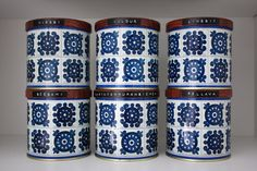 Retro Finnish Cocoa Tins. We had these at home when I was a little girl!