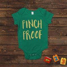 Funny St Patrick's Day Shirt  Pinch Proof St Pattys Day