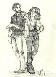 Early to mid-twenties Rose and Hugo Weasley. by The Life Pursuit