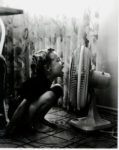 Just taught my youngest boys (9 & 7) to do this when the A/C couldn't keep up.....they loved it.....