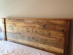 king size wood headboard reclaimed wood headboard projects pinterest full size headboard pallets and farmhouse style