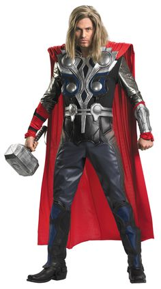 Thor Avengers  Adult Costume from the Avenger Movie.