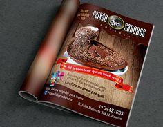 """Check out new work on my @Behance portfolio: """"Arte para revista de anúncios para casa de doces"""" http://on.be.net/1ILe87s"""