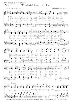Wonderful Grace of Jesus - Hymnary.org
