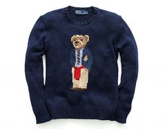 Ralph Lauren Polo Bear Sweater is making a come back on the September 27 -  today - for both men and women. to be sold under RL Vintage e6b2e2a8320d7