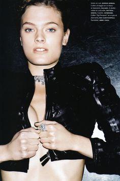 """Constance Jablonski in """"Magnétique"""" by Ben Hassett for Numéro April 2011"""