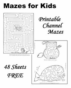 Mazes for Kids!