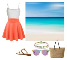 Summer Sun by catscratch729 on Polyvore featuring American Vintage, Vince Camuto, Ippolita and TOMS