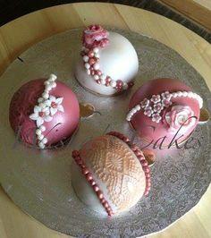 Bouchées roses | Wisha's Cakes