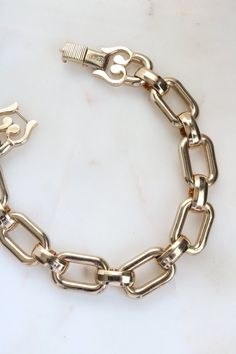 Your place to buy and sell all things handmade Link Bracelets, Jewelry Bracelets, Jewellery, Gold Bangles, Silver Jewelry, Silver Accessories, Blue Rings, Monet, Rings For Men