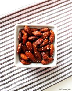 Smoked Paprika Almonds  |  Devour