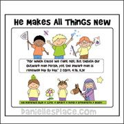 A time for everything printable book from daniellesplace god renews us day by day bible color sheet fandeluxe Gallery
