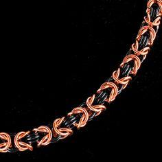 Byzantine Bracelet Chainmaille Class | Chicago Oct. 30, 2013 | Rebeca Mojica | Blue Buddha Boutique http://www.bluebuddhaboutique.com/b3/classes/Byzantine-Bracelet#CLS-BYZ-BRCLT-2013-10-30