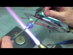 Lampwork Tutorial: Silver Glass Striking, Reducing & Encasing Secrets - YouTube
