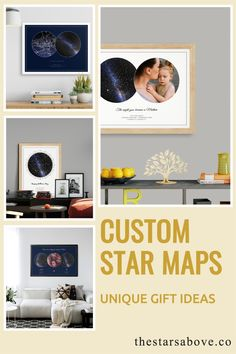These are the perfect gifts to commemorate the most special occasions in your life. The birth of a child, a wedding or anniversary, or that first date that changed everything. #stars #night #sky Unique Mothers Day Gifts, Special Occasion, Stars, Sterne, Star