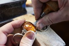 House of Amber - Our workshop