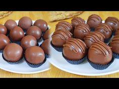 KUE BOLA COKLAT MEWAH DENGAN 4 BAHAN - YouTube Yummy Cookies, Cake Cookies, Chocolate Recipes, Chocolate Cake, New Cake, Aesthetic Food, Mini Cupcakes, Cake Recipes, Biscuits